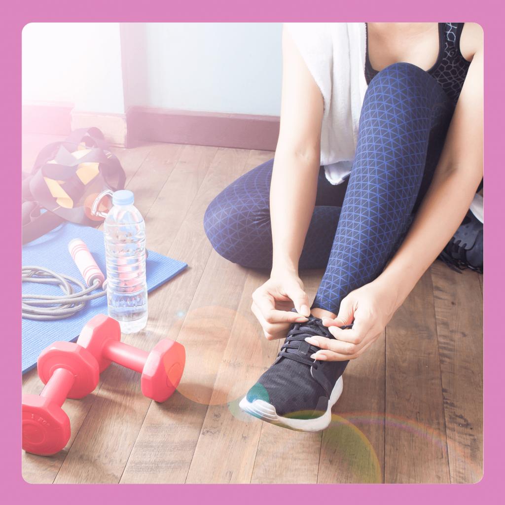Ćwiczenia w domu: obuwie