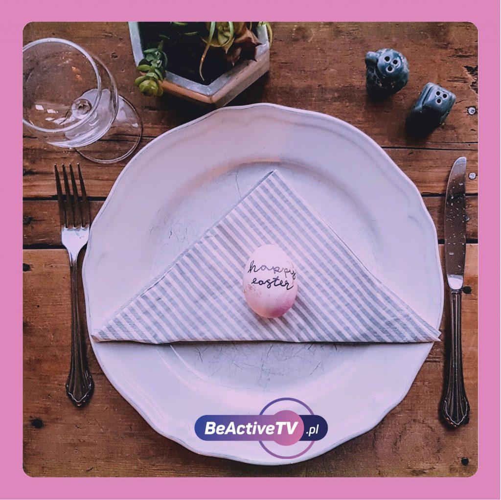 Fit Wielkanoc - korzystaj z małego talerza