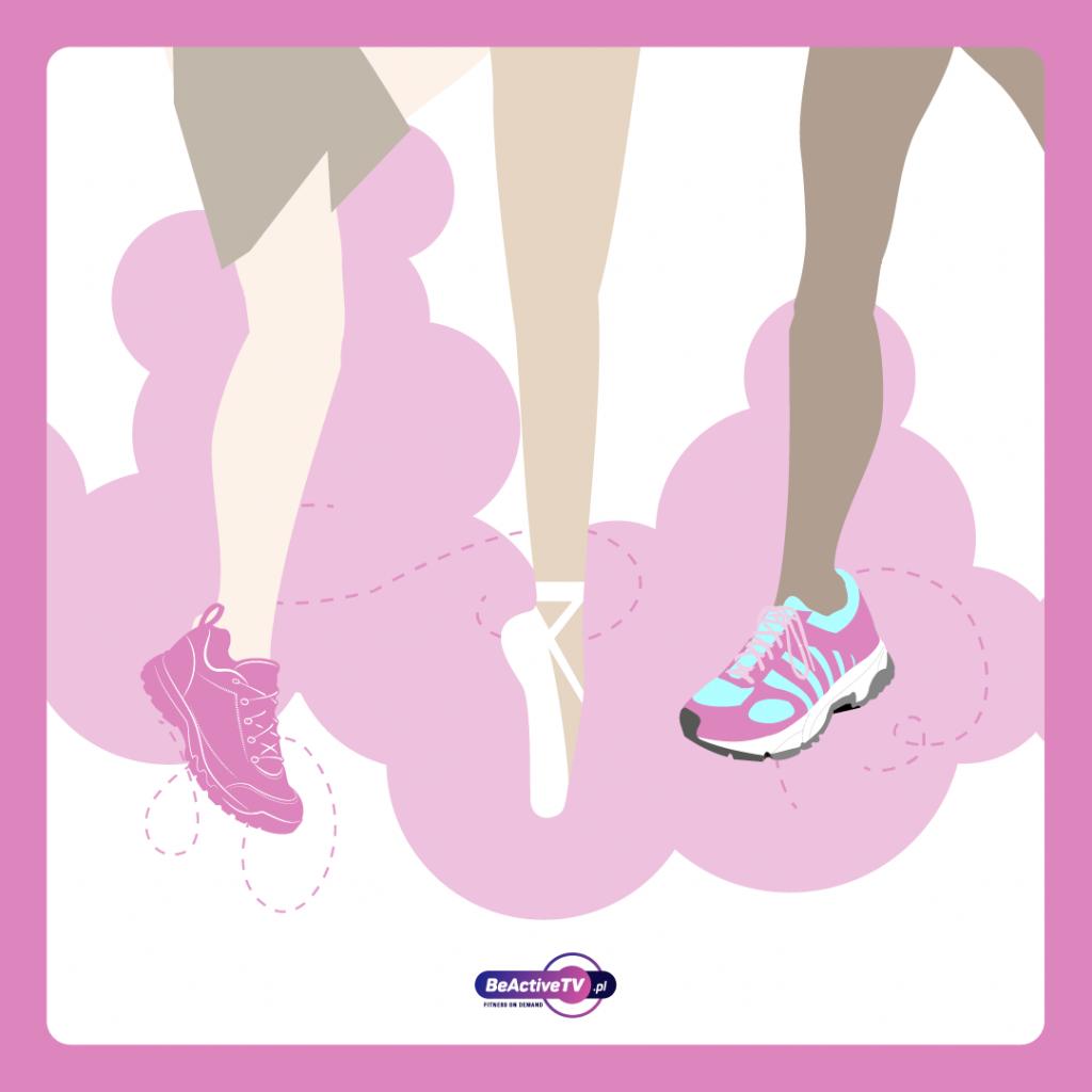 Ćwiczenia w domu - wybór butów