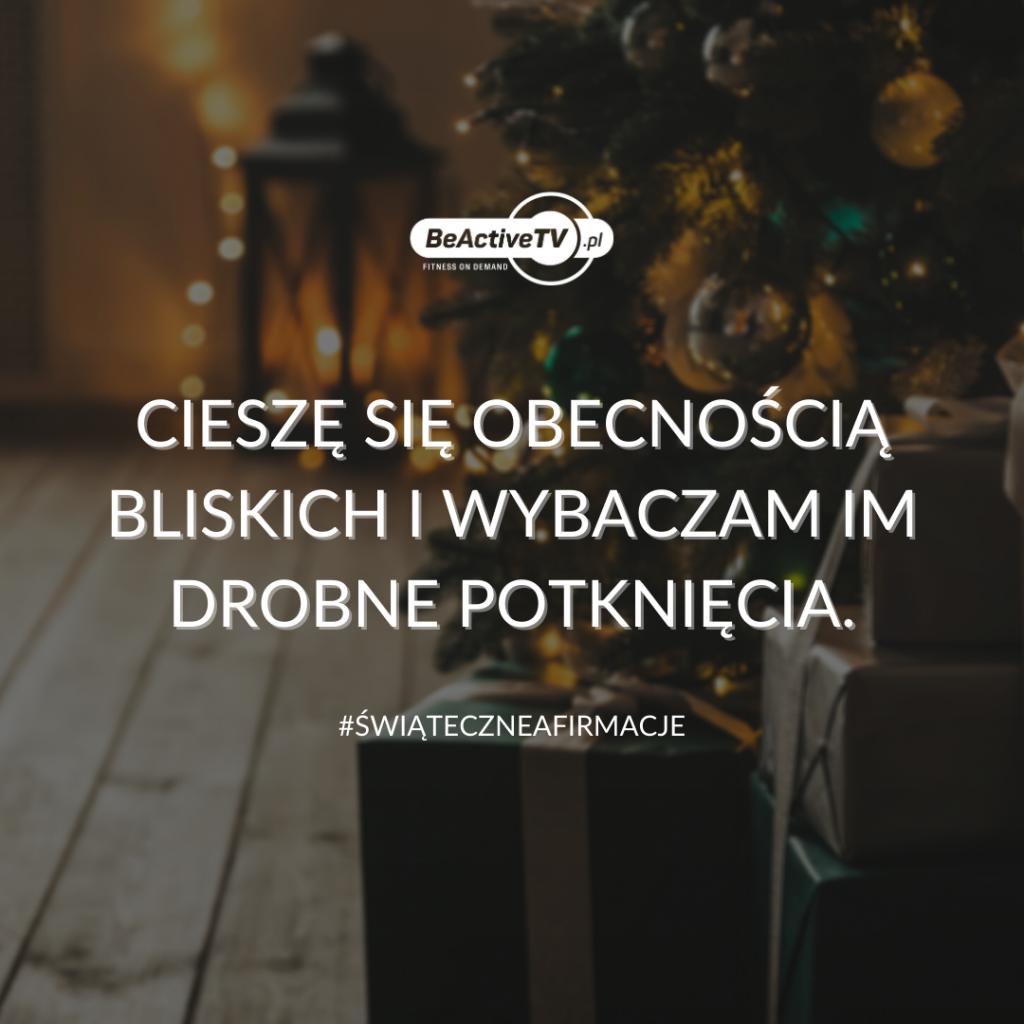 afirmacje świąteczne